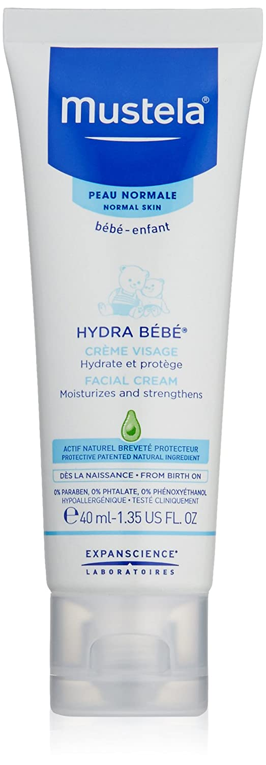 Mustela Hydra Bebe Facial Cream Moisturizes And Strengthens, 40 ml MUSMUSC73028305