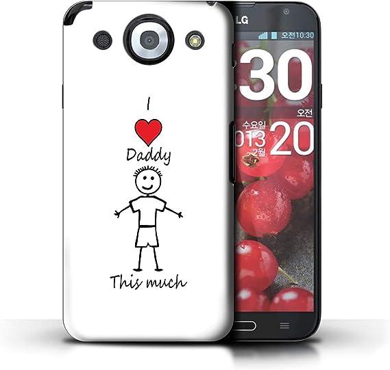 Stuff4® Phone Case/Cover/Skin/LG-CC/I Love My Mummy Daddy ...