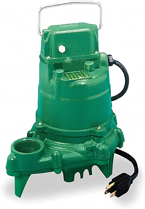 Zoeller M53 Sump Pump 1//3 HP Cast Iron Submersible w// Vertical Float Switch 110V