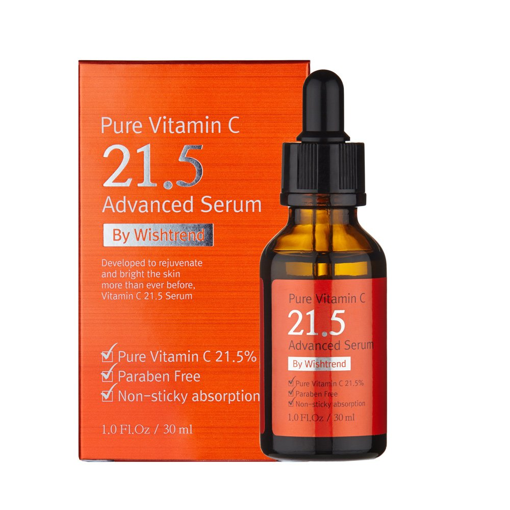 C20 By Wishtrend Pure Vitamin C215 Advanced Serum 30ml Ost Original Brightening Whitening Skin Tone Improvemnet Ascorbic Acid C2o Beauty