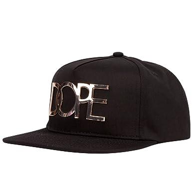 DOPE Gold Plate Mens Snapback Hat 92fe1f185d5