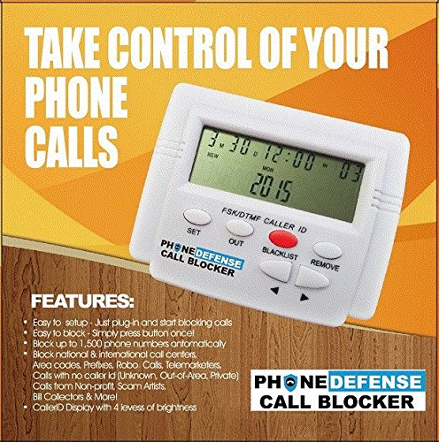 Phone Defense Call Blocker (Pstn Adapter)