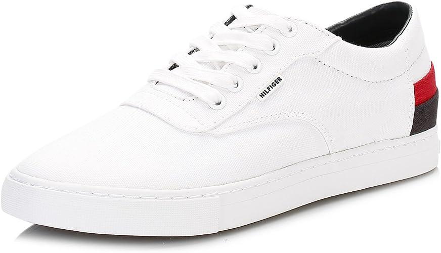 Tommy Hilfiger Uomo Bianco Jay 4D1 Sneaker: Amazon.it
