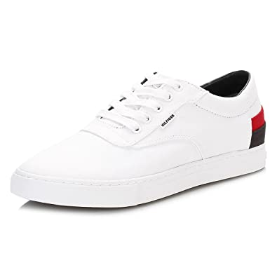 Tommy Hilfiger Mens White Jay 4d1 Trainers Amazon Co Uk Shoes Bags