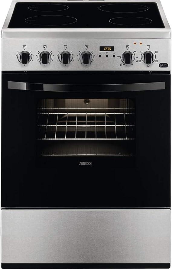 Zanussi ZCV65311XA Cocina independiente 86 x 60 x 60 cm ...