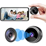 Camera Hidden Home Security Camera WiFi Mini Spy Camera Video Recorder with Audio, Nanny Cam with Motion Detection Night Visi