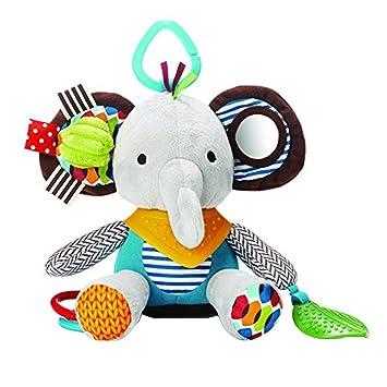 MOCHOAM Juguetes para bebés para niños y niñas, sonajeros Divertidos y carritos de Felpa para bebé - Juguetes para bebés neutros 1pcs (Elefantes): ...