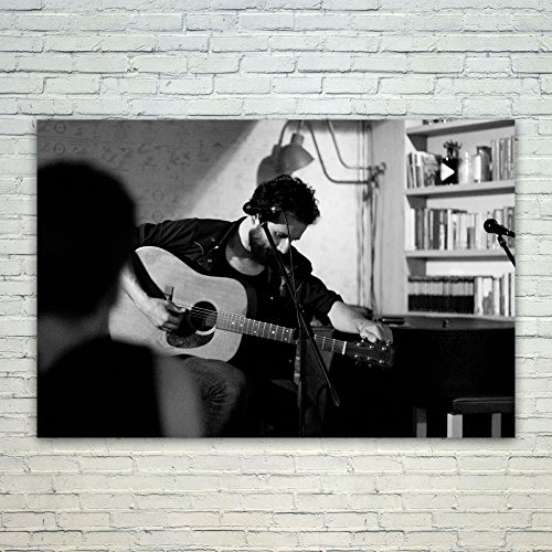 Westlake Art Poster Print Wall Art - Acoustic Guitar - Moder