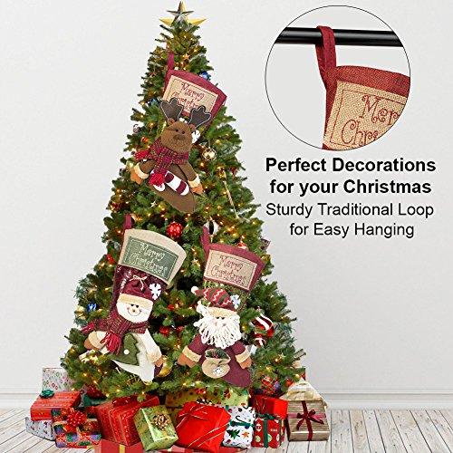 3 pcs set christmas stockings - Xmas Stockings