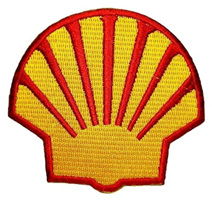 Amazon com: Shell gas station Oil petroleum F1 Patch Sew Iron on