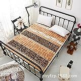 Washable Thin Futon mattress topper,Floor mat Foldable cushion mats Flannel Easy to clean-M 120x200cm(47x79inch)
