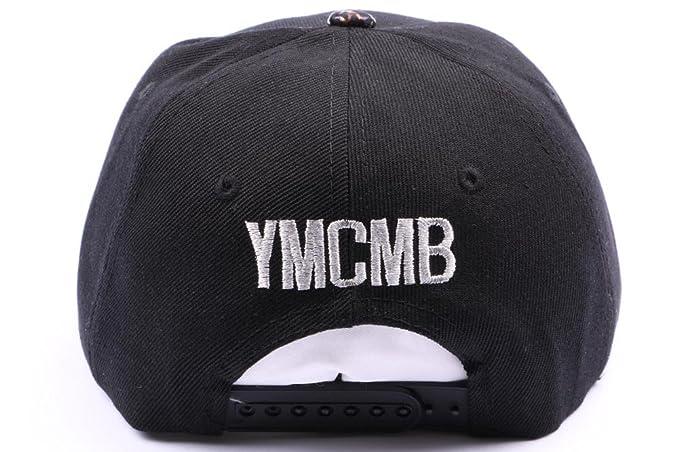 YMCMB - snapback YMCMB y negro plata hombre/mujer negro Talla ...