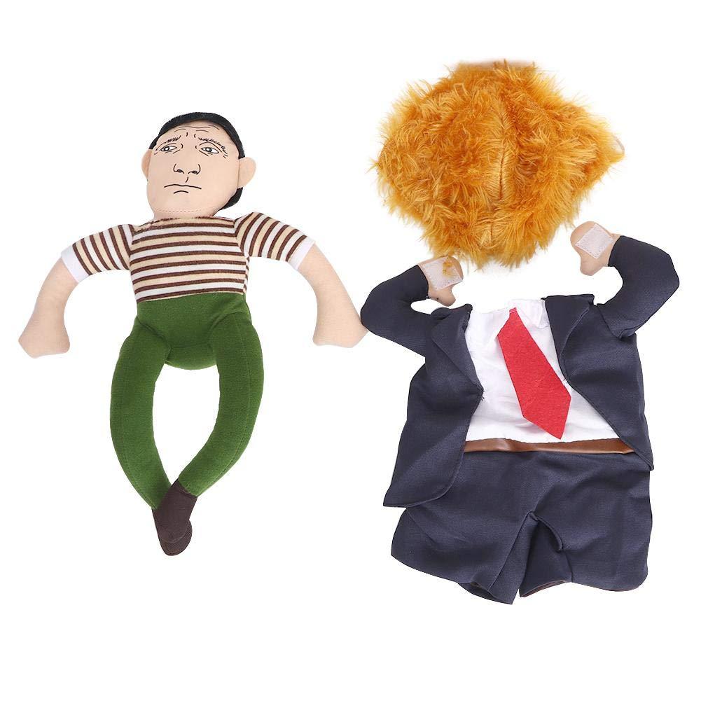 Sugoyi Disfraz de Perro, Tela Divertido Presidente Carry Doll ...
