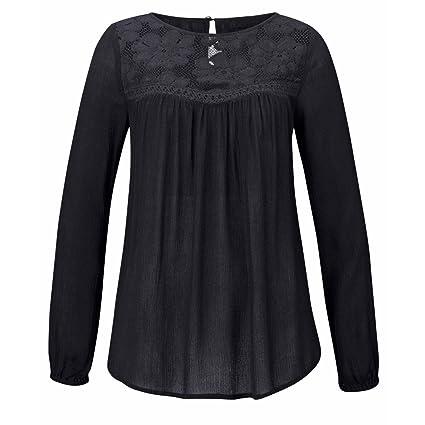 Niña otoño fashion,Sonnena ❤ Blusa de moda de manga larga para mujer Las