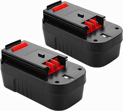 3.6Ah HPB18 Replace for Black and Decker 18v Battery Ni-Mh HPB18-OPE 244760-00 A1718 FSB18 FS18FL Firestorm Batteries