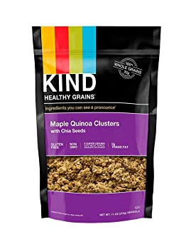 KIND Healthy Grains Maple Quinoa Clusters with Chia Seeds