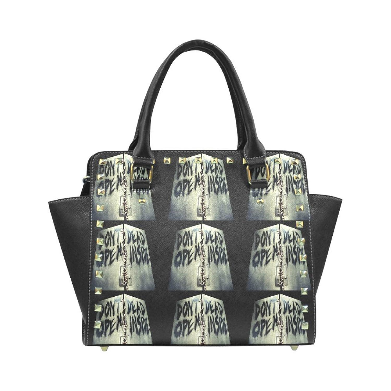The Walking Dead PU Leahter Wings Rivet Shoulder Handbag For Fashion Women/Girls