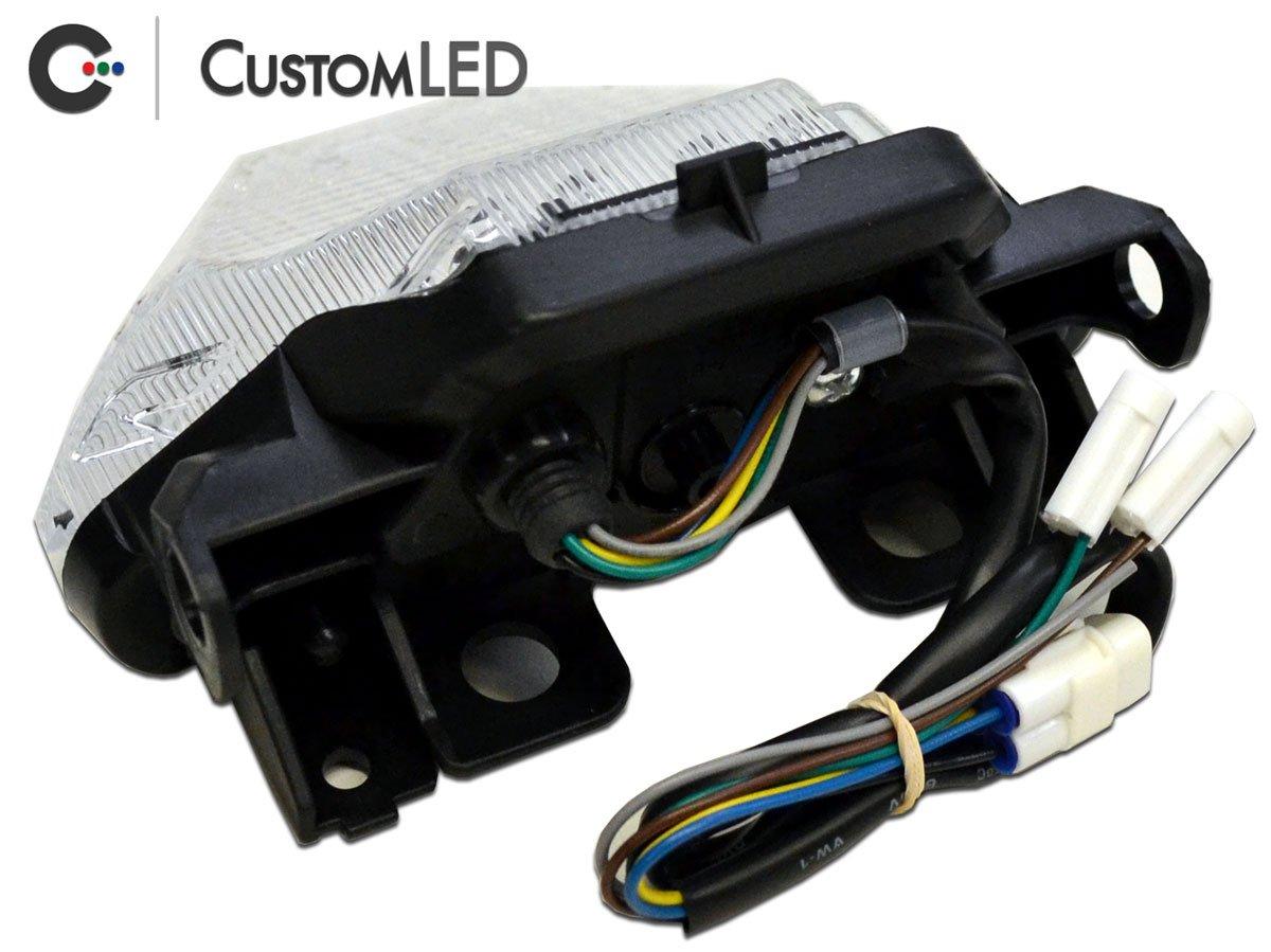 Amazon.com: 2015-2017 Yamaha FZ-07 Blaster-X Integrated LED Tail Light (FZ07, MT07): Automotive