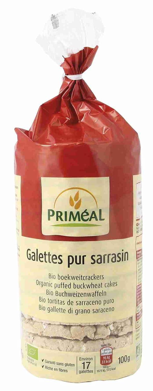 Tortitas de trigo sarraceno sin gluten Priméal, 100 g ...
