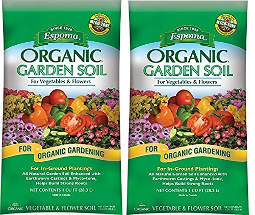 Espoma Company (VFGS1) Organic Vegetable and Flower Soil (2-Pack)