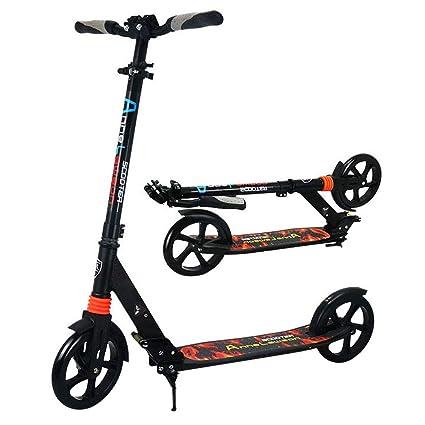 Patinete Plegable Scooter de aleación de Aluminio 2 Ruedas ...