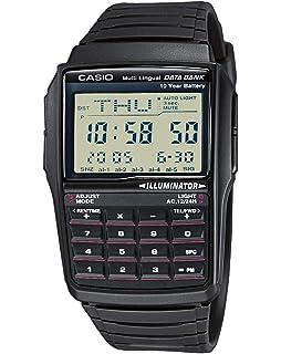 Casio Reloj con Correa de Goma Unisex CA-53W-1ER: Amazon.es: Relojes