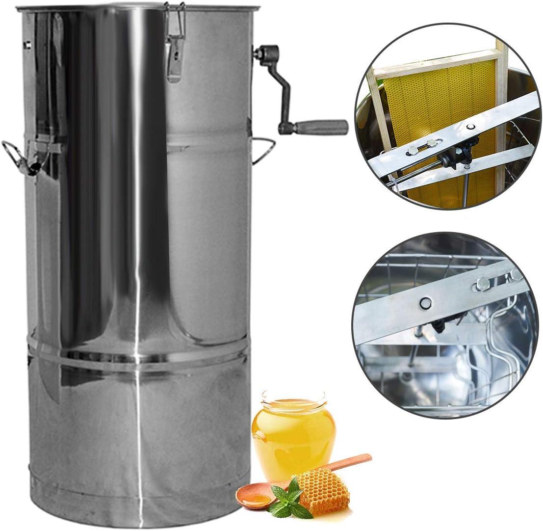 304ステンレス鋼厚いフレームホーム蜂蜜抽出器蜂蜜セパレーター蜂の巣機養蜂蜂機振る蜂蜜機