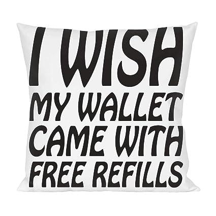 I Wish mi billetera Came incluye recambios para almohada de lema