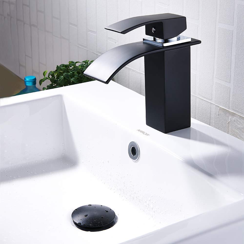 tap/ón de clic tap/ón de desag/üe tap/ón de desag/üe de lat/ón con acabado cromado Tap/ón de drenaje ranurado para lavabo o lavabo dorado