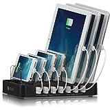 Satechi USB 充電ステーション 7 ポート iPhone iPad android 等各種 スマートフォン タブレット 対応 (黒)