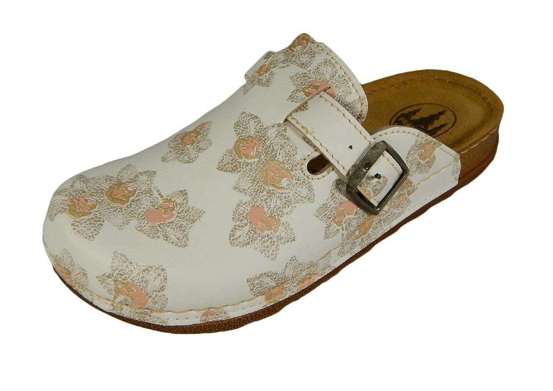 """Franken-Schuhe Women's Clog - """"Helma"""" Apricot"""