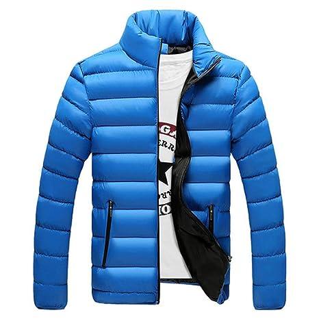 Jacket Men Warm Coat Black Outwear Chaquetas Plumas Hombre Winter Mens Coats Jackets at Amazon Mens Clothing store: