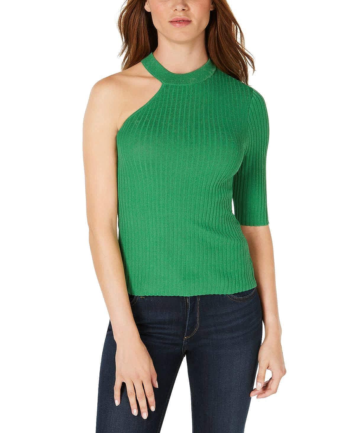 Bar III One-Shoulder Sweater