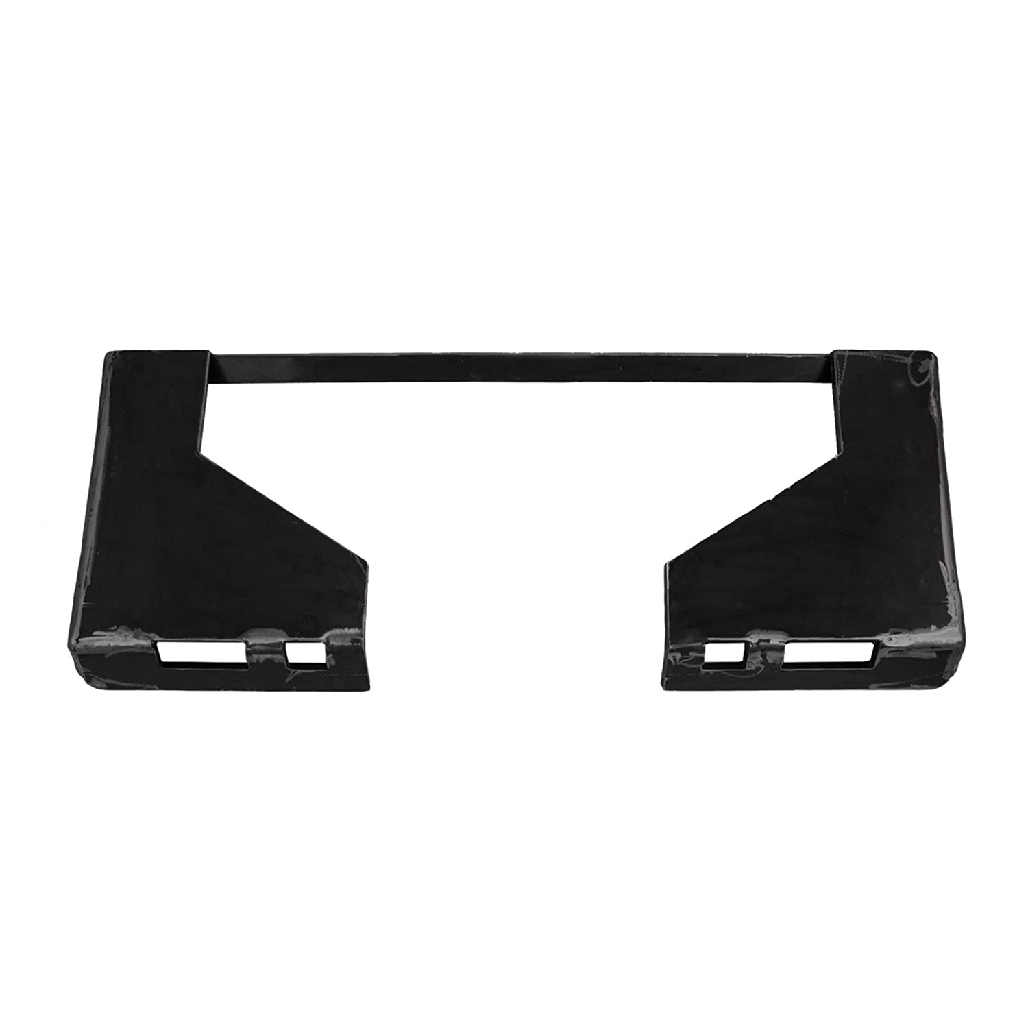 Mophorn 5/16 Inch Universal Quick Attach Mount Plate Skid Steer Attachment Mount Plate Heavy Duty 46Lbs Steel Plate with 31.5Inch Inside Cut Out for Plate (5/16)