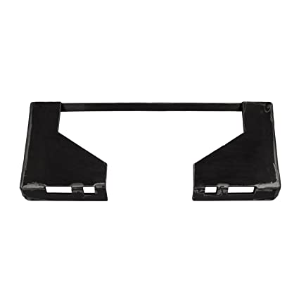 Mophorn 0 5In Universal Quick Tach Mount Plate Skid Steer Attachmen 65LBS  Steel Plate with 31 5In Inside Cut Out for Plows Forks Loader Bobcat Kubota