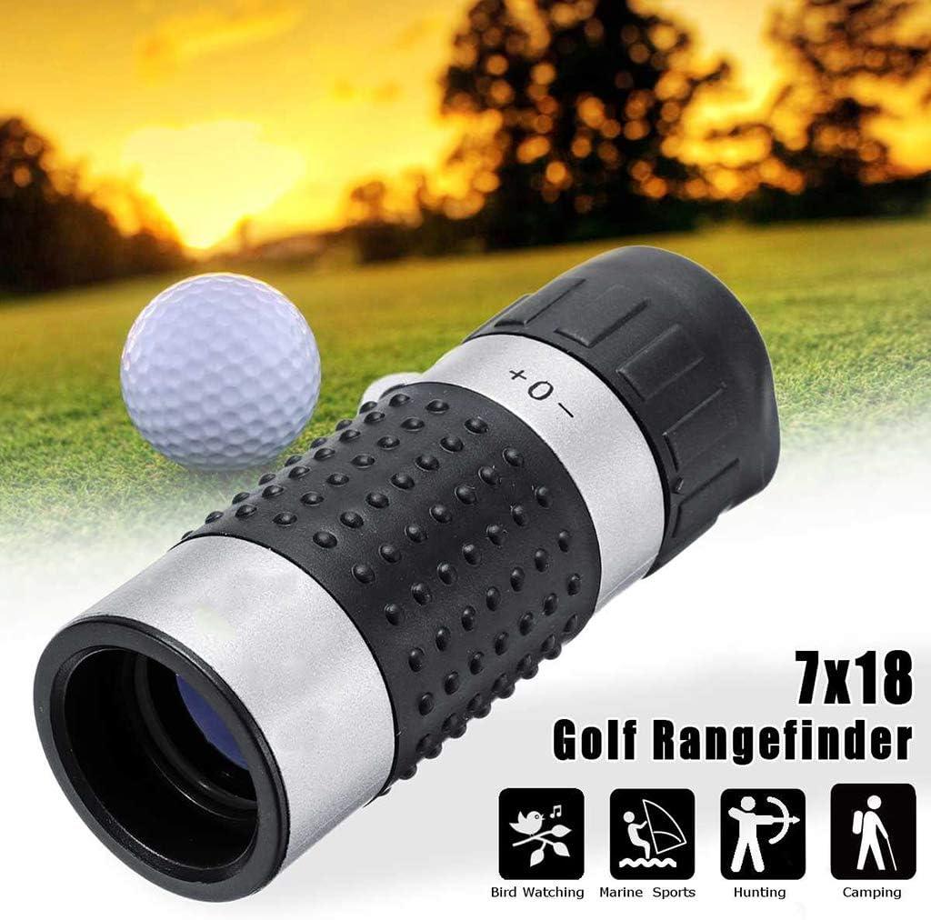 Golf-Entfernungsmesser Jagd-Entfernungsmesser Handheld Hochpr/äzises monokulares tragbares elektronisches Entfernungsmesser-Zielfernrohr