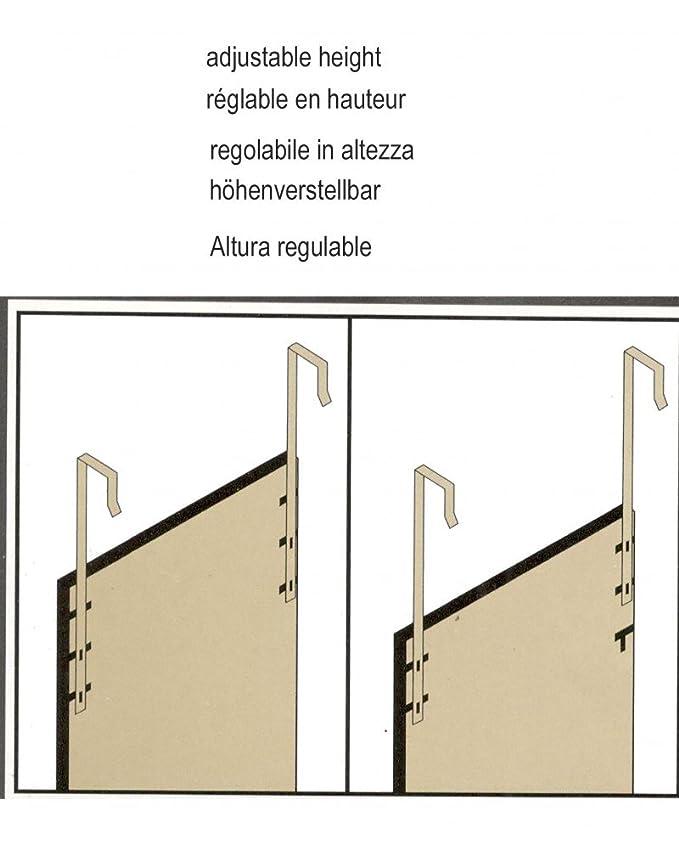 Colore: Bianco Serie LCC Specchio per Porta di casa UNIMASA M288774
