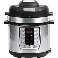 Emeril Lagasse Pressure Cooker, Air Fryer, Steamer and Electric Multi-Cooker. Air Fry Basket and Crisper Lid (6 Quart PLUS model)