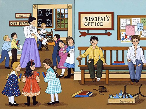 The Principal's Office by Sheila Lee Art Print, 19 x 14 inches