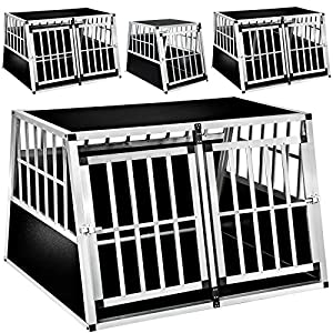 TecTake Dog cage trapezoidal - different models - 16