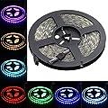 elcPark 5M/16.4FT SMD 5050 LED Light Strip Lightings Waterproof IP65 Flexible 300LEDs