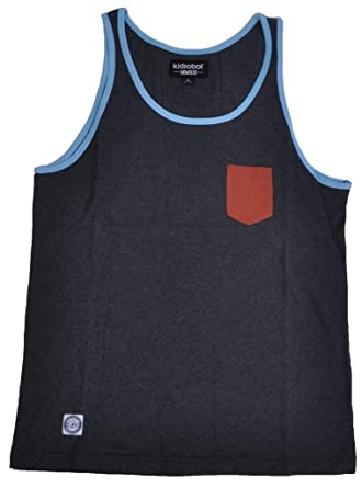 90c3909fd3b8cb Image Unavailable. Image not available for. Color  Kidrobot Solid Tank Top  ...