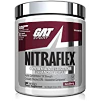 GAT Sport NITRAFLEX Testosterone Boosting Powder, Increases Blood Flow, Boosts Strength and Energy, Improves Exercise…