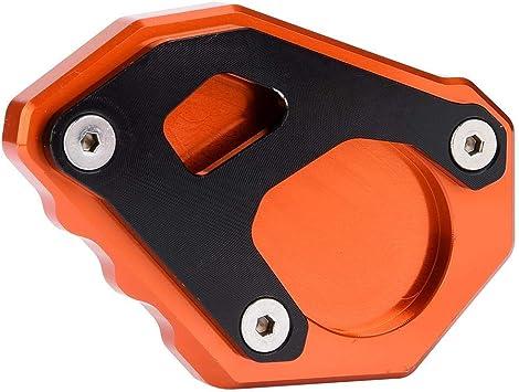 1 PC di Cavalletto da Moto Cavalletto Laterale Piastra di Ingrandimento per KTM 1050//1090//1190//1290 Adventure Super. Kickstand Pad