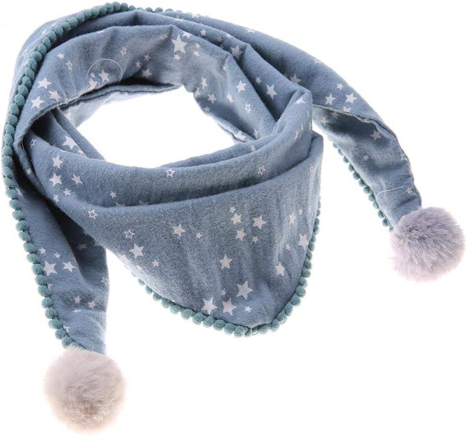 Cute Multiuso fazzoletto da collo di Cotone per Bambini Unisex Bezioner Sciarpa per Ragazze e Ragazzi