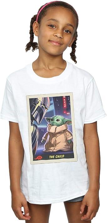 Star Wars Niñas The Mandalorian The Child Card Camiseta