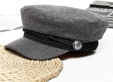 CQLKLI Sombrero De Boina De Moda Sombrero De Violín Negro Sombrero ...