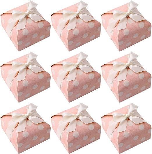 Toyvian Cajas de caramelos cúbicos Cajas de ducha elegantes para novias Cajas para golosinas decorativas: Amazon.es: Hogar