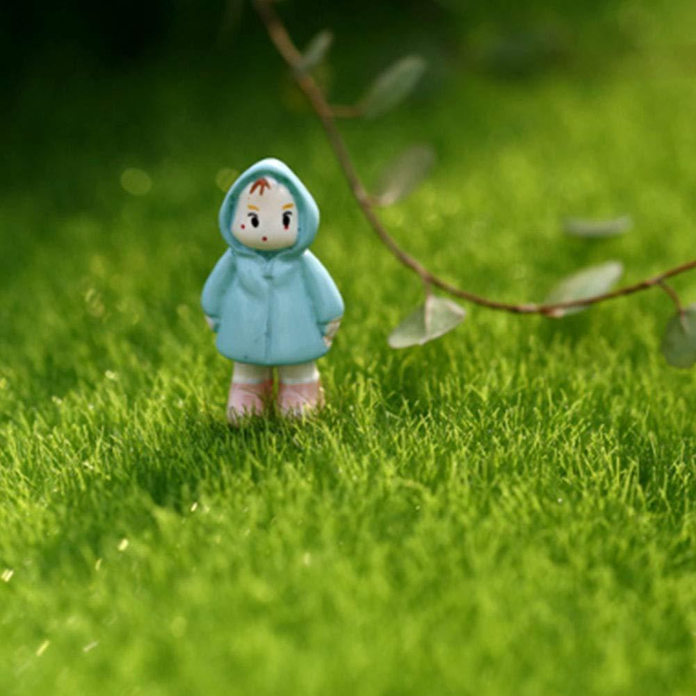 /Bambole e Giocattoli Bambole /& Miniature 4pcs 6/* 6/in Hemore Artificiale Erba per Giardino Turf Faux Moss Miniature Craft Ecology Decor/