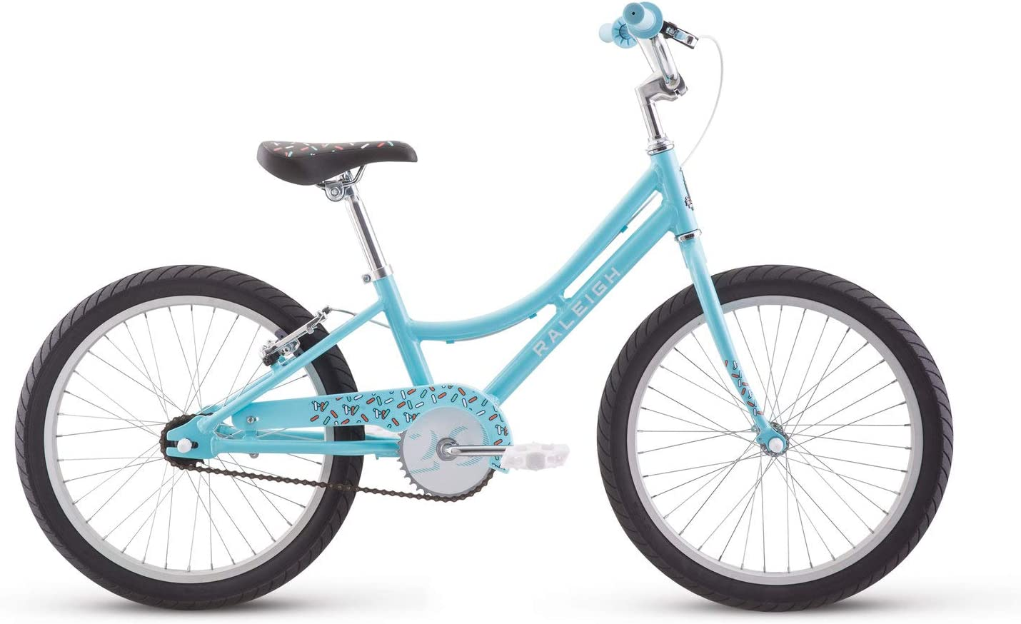 RALEIGH Bikes Jazzi 12 Kids Bike with Training Wheels, Purple